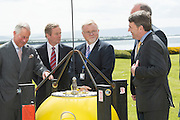 19/05/2015  Repro free HRH The Prince of Wales on his visit to the Marine Institute where he met An Taoiseach Enda Kenny TD , Mr Mick Gollooly, Marine Institute, Minister Simon Coveney and  Marine Institute CEO Dr. Peter Heffernan and talked to the Marine Institute staff about their work in areas including analysing the impact of Climate change on the ocean , sustainable fisheries , marine bio discovery and international collaboration on Ocean research. Photo: Andrews Downes XPOSURE