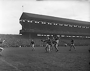 All Ireland Senior Football Championship Final, Louth v Cork .22.09.1957, 09.22.1957, 22st September 1957, Louth 1-09 Cork 1-07, 22091957AISFCF,.