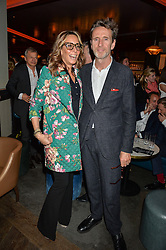 TARA BERNERD and OLIVER PEYTON at the GQ Food & Drink Awards 2016 presented by Veuve Clicquot held at 100 Wardour Street, Soho, London on 26th April 2016.