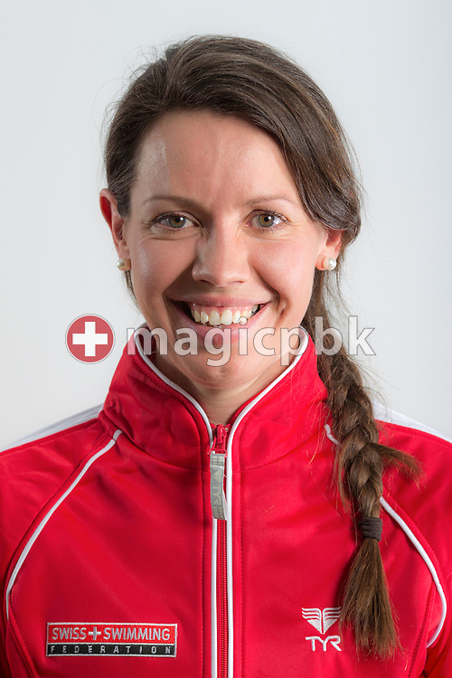 Nicola POULSEN, osteopath of Swiss Swimming, poses during a portrait session during the International Swim Meet Uster 2013 in Uster, Switzerland, Saturday, Jan. 26, 2013. (Photo by Patrick B. Kraemer / MAGICPBK)
