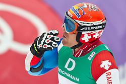 18.02.2011, Kandahar, Garmisch Partenkirchen, GER, FIS Alpin Ski WM 2011, GAP, Herren, Riesenslalom, im Bild Didier Cuche (SUI) Didier Cuche (SUI) // Didier Cuche (SUI) Didier Cuche (SUI) during men's Giant Slalom Fis Alpine Ski World Championships in Garmisch Partenkirchen, Germany on 18/2/2011. EXPA Pictures © 2011, PhotoCredit: EXPA/ J. Groder