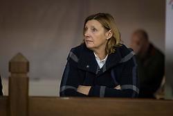 De Reys Edith, Voorstelling op harde bodem <br /> Hengsten keuring BWP - Koningshooikt 2017<br /> © Dirk Caremans<br /> 27/12/2016