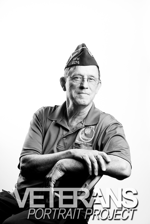 Ben Tanner<br /> Air Force<br /> E-8<br /> Weapons<br /> 1965 - 1987<br /> Vietnam, Thailand<br /> <br /> Veterans Portrait Project<br /> St. Louis, MO