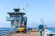 Main Lifeguard Tower on San Clemente Pier