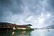 Salt House Restaurant. Cairns Boat Harbour. Cairns, Queensland, Australia. 31/05/2012. Photo By Lucas Wroe.