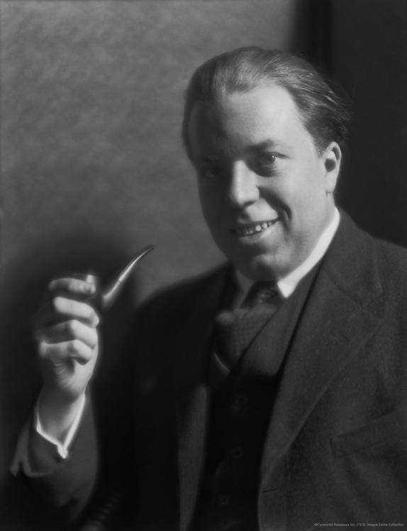 Christopher Morley, American Author and Poet, 1921