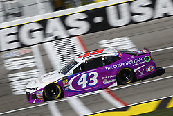March 2, 2018 - Las Vegas, Nevada, United States of America - March 02, 2018 - Las Vegas, Nevada, USA: Darrell Wallace Jr (43) brings his race car down the front stretch during practice for the Pennzoil 400 at Las Vegas Motor Speedway in Las Vegas, Nevada. (Credit Image: © Chris Owens Asp Inc/ASP via ZUMA Wire)