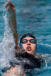 Tjasa Vozel of PK Ilirija (SLO) competes during the 35th International Swimming meeting Ljubljana 2010, on May 23, 2010 at Kodeljevo pool, Ljubljana, Slovenia. (Photo by Vid Ponikvar / Sportida)