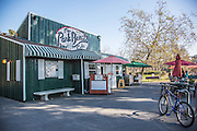 The Park Bench Cafe in Huntington Beach Central Park