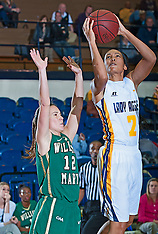 2014-15 A&T Women's Basketball vs William & Mary
