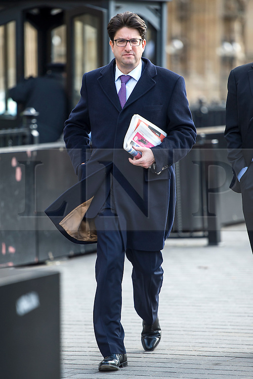 © Licensed to London News Pictures. 16/03/2016. London, UK. LORD FELDMAN  In Westminster in the day that George Osborne delivered his budget to parliament. Photo credit: Ben Cawthra/LNP