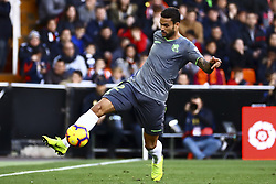 February 10, 2019 - Valencia, Spain - Willian Jose  of Real Sociedad during  spanish La Liga match between Valencia CF v Real Sociedad at Mestalla Stadium on February 10, 2019. (Photo by Jose Miguel Fernandez/NurPhoto) (Credit Image: © Jose Miguel Fernandez/NurPhoto via ZUMA Press)