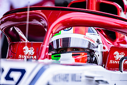 February 26, 2019 - Barcelona, Barcelona, Spain - Antonio Giovinazzi from Italy with 99 Alfa Romeo Racing portrait during the Formula 1 2019 Pre-Season Tests at Circuit de Barcelona - Catalunya in Montmelo, Spain on February 26. (Credit Image: © AFP7 via ZUMA Wire)