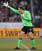 Fotball<br /> Tyskland<br /> Foto: Witters/Digitalsport<br /> NORWAY ONLY<br /> <br /> 21.02.2009<br /> <br /> Torwart Jens Lehmann VfB<br /> Bundesliga VfB Stuttgart - TSG 1899 Hoffenheim