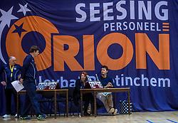 18-03-2017 NED:  Finale NOJK B finalisten, Doetinchem<br /> De B-teams waren de finaledag actief in Doetinchem, waar zij in het Topsportcentrum sportief zullen uitvechten wie zich het komende jaar Nederlands kampioen mag gaan noemen / Orion, tellers