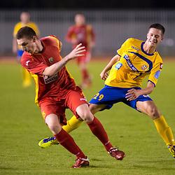 20121020: SLO, Football - PrvaLiga NZS, NK Rudar vs NK Luka Koper