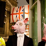 The Lord Mayor's Banquet visited by City Pigs