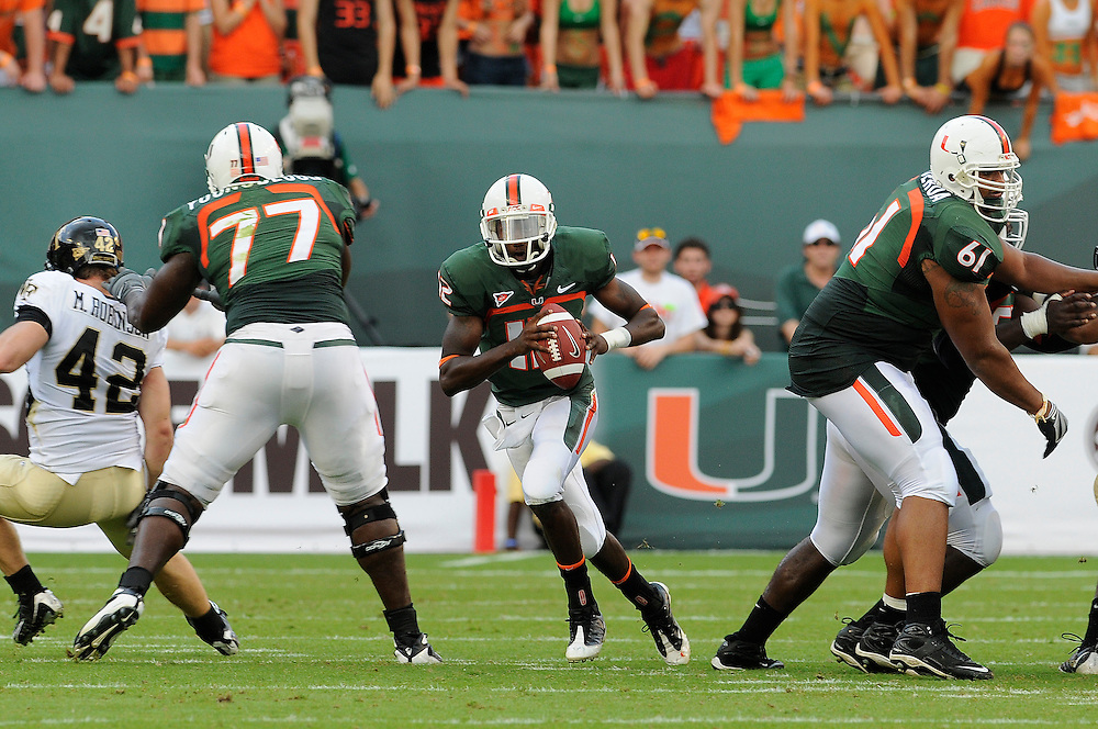 2008 Miami Hurricanes Football vs Wake Forest