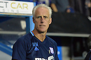 Ipswich Town manager Mick McCarthy  during the EFL Sky Bet Championship match between Reading and Ipswich Town at the Madejski Stadium, Reading, England on 9 September 2016. Photo by Mark Davies.
