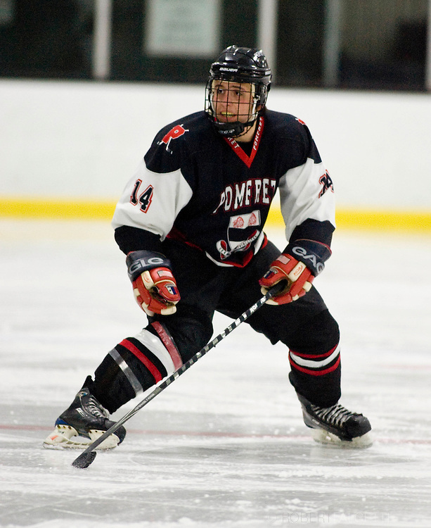 2011 Pomfret School Boys Hockey. (Photo by Robert Falcetti)..
