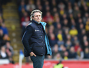 Wycombe manager Gareth Ainsworth during the Sky Bet League 2 match between Wycombe Wanderers and Oxford United at Adams Park, High Wycombe, England on 19 December 2015. Photo by David Charbit.