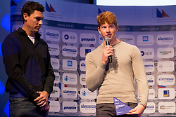 Liam Orel at ceremony of Slovenia Sailing Federation for best Sailor in 2017, on February 7, 2018 in Ljubljana castle, Ljubljana, Slovenia. Photo by Urban Urbanc / Sportida