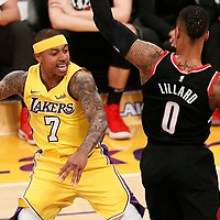 03-05 TRAIL BLAZERS AT LAKERS