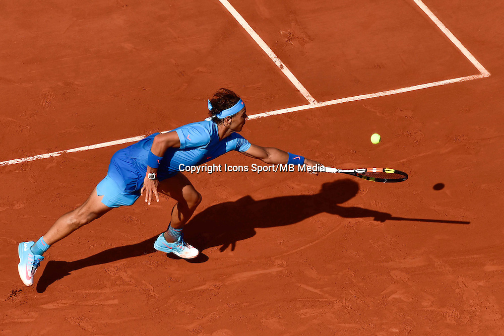 Rafael NADAL - 03.06.2015 - Jour 11 - Roland Garros 2015 <br />