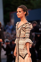 Actress Alicia Vikander at the gala screening for the film The Danish Girl  at the 72nd Venice Film Festival, Saturday September 5th 2015, Venice Lido, Italy.