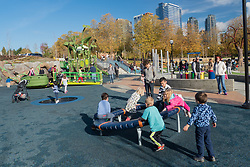 United States, Washington, Bellevue, Bellevue Downtown Park, Imagination Playground