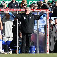 Photo: Mark Stephenson.<br /> Birmingham City v Stoke City. Coca Cola Champinship. 11/02/2007.Birmingham's Steve Bruce
