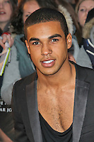 LONDON - APRIL 23: Lucien Laviscount attends the European Film Premiere of 'The Lucky One' at The Bluebird Restaurant & Bar, King's Road, Chelsea, London, UK. April 23, 2012. (Photo by Richard Goldschmidt)