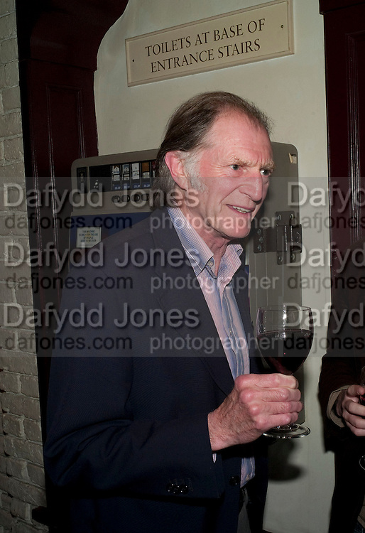 DAVID BRADLEY, party after the press night of 'The Last Cigarette' at  the Trafalgar Studios. Party at Walkers, Craig's Court, Whitehall. London.  28 April 2009