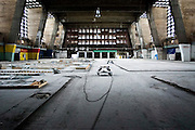 The abandoned Grossmarkthalle [wholesale market hall] in the german city of Frankfurt is going to be a part of the new ECB headquarter | February 2007