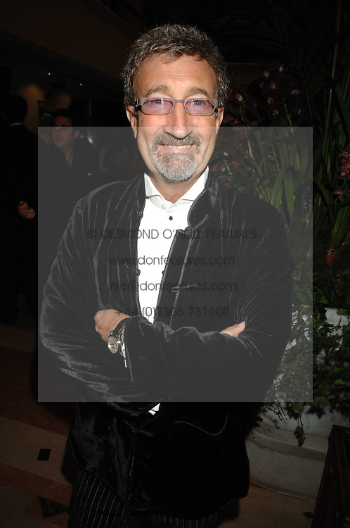 EDDIE JORDAN at The Diner Des Tsars in aid of Unicef to celebrate the launch of Quintessentially Wine held at the Guildhall, London EC2 on 29th March 2007.<br /><br />NON EXCLUSIVE - WORLD RIGHTS