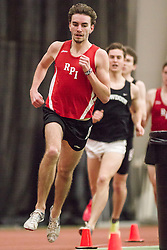 Bowdoin Indoor 4-way track meet: mens mile