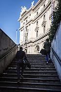 Roma, Lazio, Italia, 31/05/2016<br /> Stazione della metropolitana a Piazza della Repubblica<br /> <br /> Rome, Lazio, Italy, 31/05/2016<br /> The metro station in Republic's square