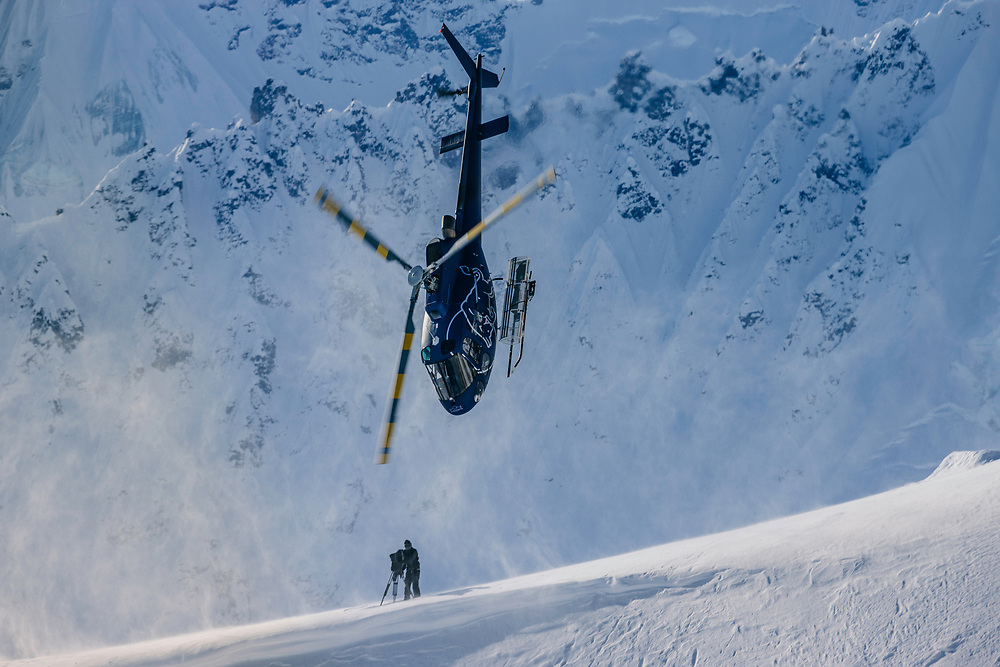Tails Up<br /> <br /> It&rsquo;s Alaska that the best snowboarders in the world travel to with hopes to ride the world&rsquo;s most extreme and challenging lines. After spending so many years flying these athletes around, and watching them perform all that that do, some of the helicopter pilots start to perform extreme maneuvers themselves.