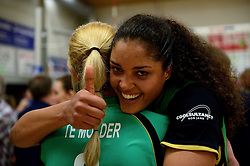 12-04-2014 NED: Finale vv Alterno - Sliedrecht Sport, Apeldoorn<br /> Alterno pakt het kampioenschap door Sliedrecht voor de derde maal te verslaan / Celeste Plak