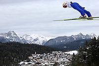 Kombinert, ,16.JAN.14 - SKI NORDISCH, NORDISCHE KOMBINATION, SKISPRINGEN- FIS Weltcup Nordic Triple, Training. Bild zeigt Mikko Kokslien (NOR)<br /> <br /> Norway only
