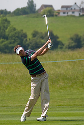 03.06.2010, Celtic Manor Resort and Golf Club, Newport, ENG, The Celtic Manor Wales Open 2010, im Bild Nick Dougherty (GBR) playing a shot. EXPA Pictures © 2010, PhotoCredit: EXPA/ M. Gunn / SPORTIDA PHOTO AGENCY