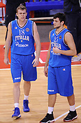 DESCRIZIONE : Biella Beko All Star Game 2012-13<br /> GIOCATORE : Nicolo' Melli e Alessandro Gentile<br /> CATEGORIA : Fair Play<br /> SQUADRA : Italia Nazionale Maschile<br /> EVENTO : All Star Game 2012-13<br /> GARA : Italia All Star Team<br /> DATA : 16/12/2012 <br /> SPORT : Pallacanestro<br /> AUTORE : Agenzia Ciamillo-Castoria/A.Giberti<br /> Galleria : FIP Nazionali 2012<br /> Fotonotizia : Biella Beko All Star Game 2012-13<br /> Predefinita :