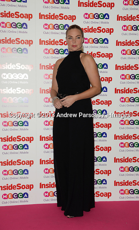 Inside Soap Awards.<br /> Samantha Womack arrives for the Inside Soap Awards, Ministry of Sound, London, United Kingdom,<br /> Monday, 21st October 2013. Picture by Andrew Parsons / i-Images