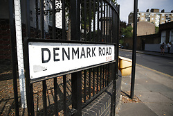 © Licensed to London News Pictures. 26/07/2018. London, UK. Denmark Road, Camberwell after an 18 year old was fatally stabbed in. A murder investigation has been launched. Police were called at approximately 18:55hrs on Wednesday, 25 July to reports of a man found with stab injuries in Denmark Road. An 18-year-old man was found suffering from stab injuries. He was taken to a south London hospital with life-threatening injuries. He was pronounced dead at 00:22hrs on Thursday, 26 July. Photo credit: Peter Macdiarmid/LNP