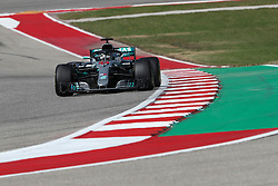 October 21, 2018 - Austin, TX, U.S. - AUSTIN, TX - OCTOBER 21: Mercedes driver Lewis Hamilton (44) of Great Britain races through turn 13 during the F1 United States Grand Prix on October 21, 2018, at Circuit of the Americas in Austin, TX. (Photo by John Crouch/Icon Sportswire) (Credit Image: © John Crouch/Icon SMI via ZUMA Press)