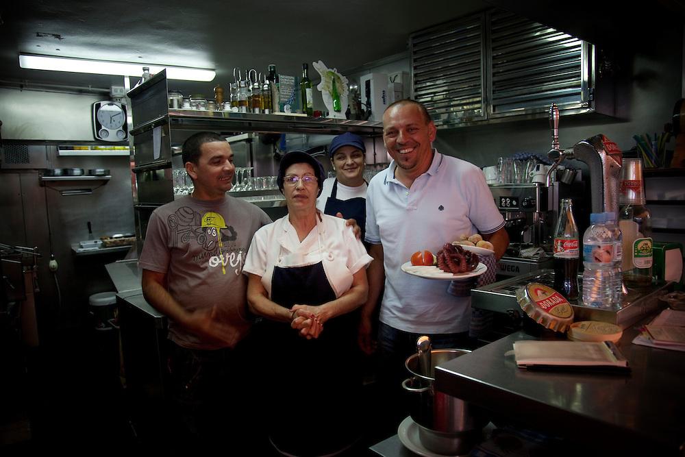 Restaurant El Cine, Los Cristianos, South Tenerife.