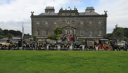 Model T Ford's group drive through the grounds of Westport House on saturday last. The Ford Model T Annual Rally was hosted by Hotel Westport last weekend, the group enjoyed a photo opportunity at  Westport House on their way to Leenaun on saturday last.<br /> Pic Conor McKeown