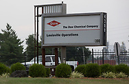 DOW chemcical in Rubbertown in Louisville, Kentucky.