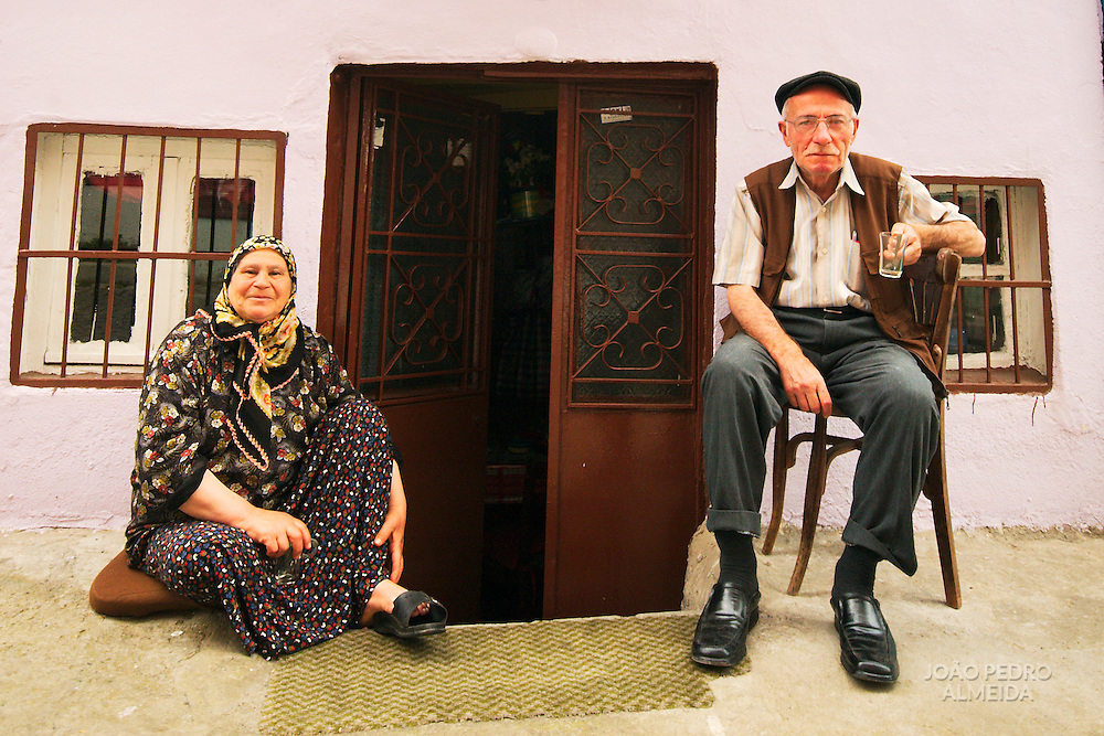 Elderly couple at Sultanahmet quarter, Istanbul
