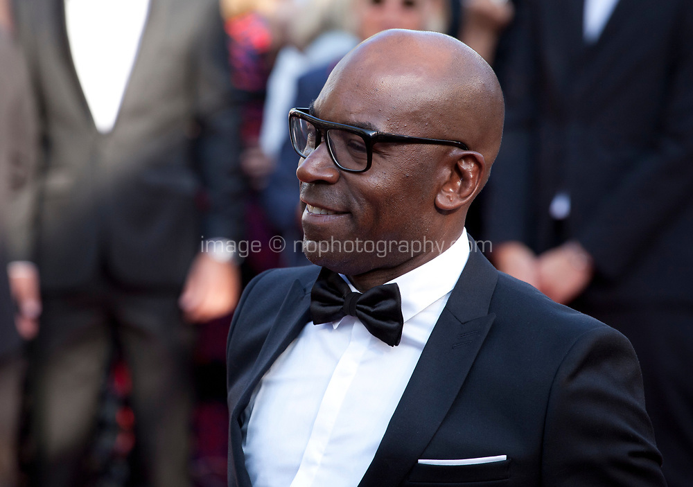 Lucien Jean Baptiste at Based on a True Story (D'apres Une Histoire Vraie) gala screening at the 70th Cannes Film Festival Saturday 27th May 2017, Cannes, France. Photo credit: Doreen Kennedy
